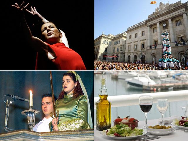"""El flamenco, la Sibila mallorquina, los """"Castells"""", la dieta mediterránea y la cetrería, Patrimonio Inmaterial de la Humanidad"""