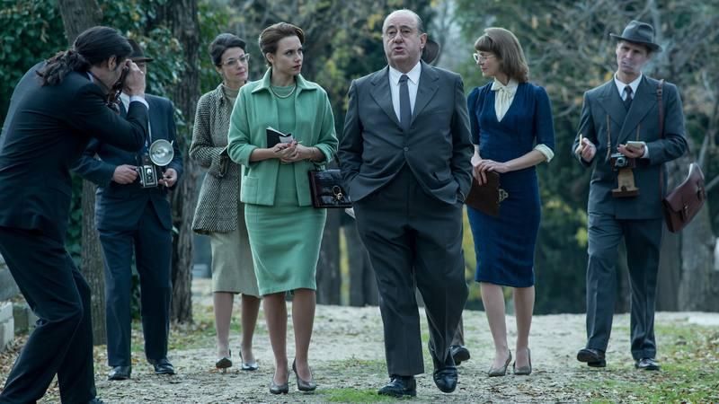 La patrulla intentará salvar a Alfred Hitchcock de ser secuestrado en su visita al Festival de San Sebastián de 1958