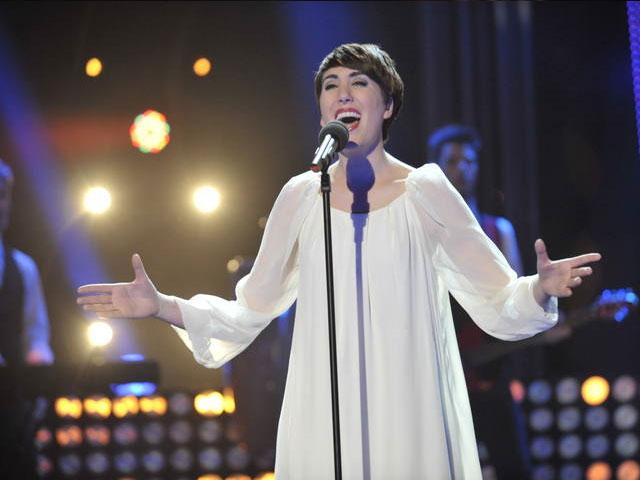 Destino Eurovisión - Actuación de Paula Marengo