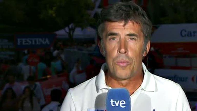 Pedro Delgado analiza la etapa 1 de la Vuelta 2014