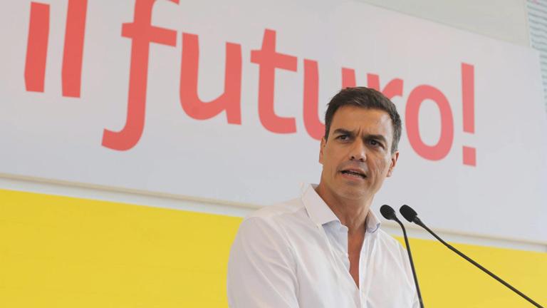 Pedro Sánchez inicia en Bolonia su agenda internacional junto a líderes de izquierda europeos