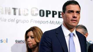 Pedro Sánchez insiste en que su enemigo no es Podemos sino la abstención