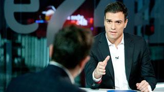 """Pedro Sánchez,: """"La reforma constitucional no es para los que están en el carro soberanista, sino para todos"""""""