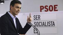 """Ir al VideoPedro Sánchez: """"La victoria de Susana Díaz es la victoria del socialismo español"""""""