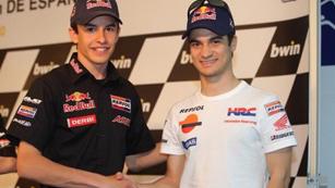 Pedrosa y Márquez serán los pilotos de Honda en 2013 y 2014