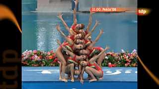 Londres en juego - Pekín 2008: Natación sincronizada