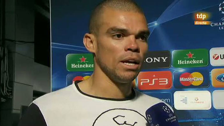 """Pepe: """"La suerte estuvo del lado del Bayern"""""""