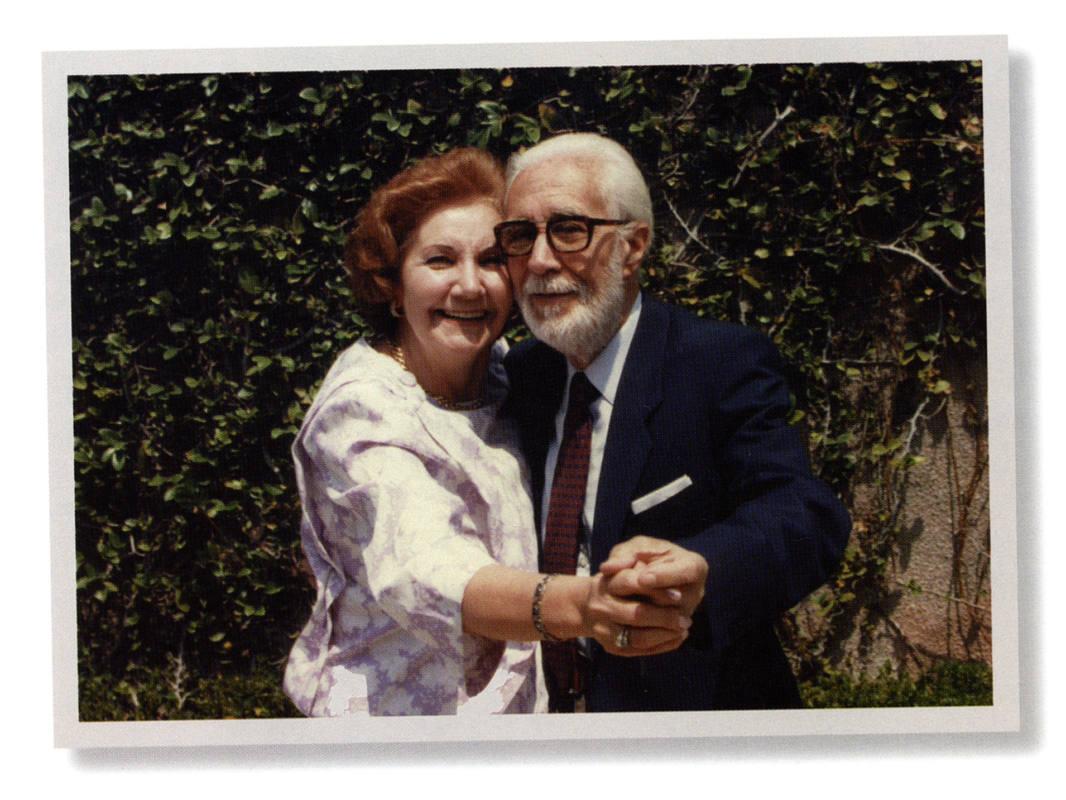 Pepita Embil y su marido, Plácido Domingo Ferrer