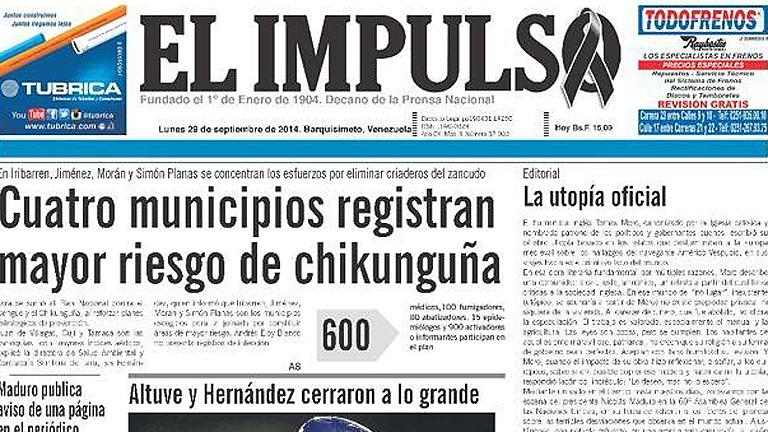 El periódico más antiguo de Venezuela deja de circular temporalmente por falta de papel
