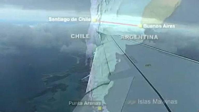 El periplo aéreo de viajar a las Malvinas