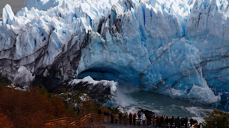 Perito Moreno, la ruptura del imponente glaciar