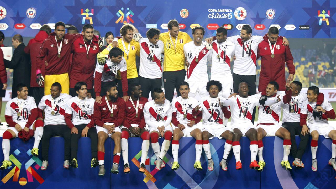 Perú repite en el tercer puesto de la Copa América tras vencer a Paraguay