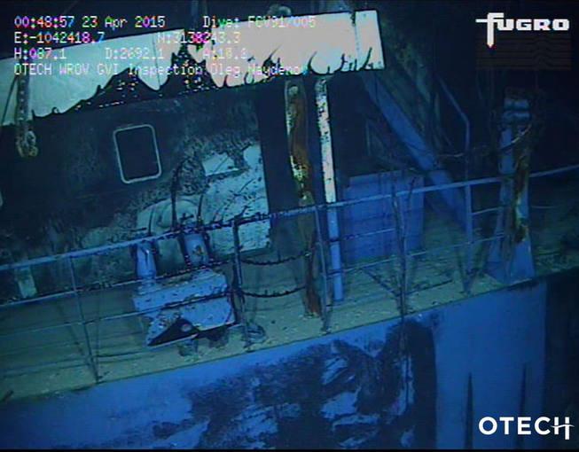 El pesquero ruso hundido al sur de Gran Canaria transportaba 1.400 toneladas de fuel
