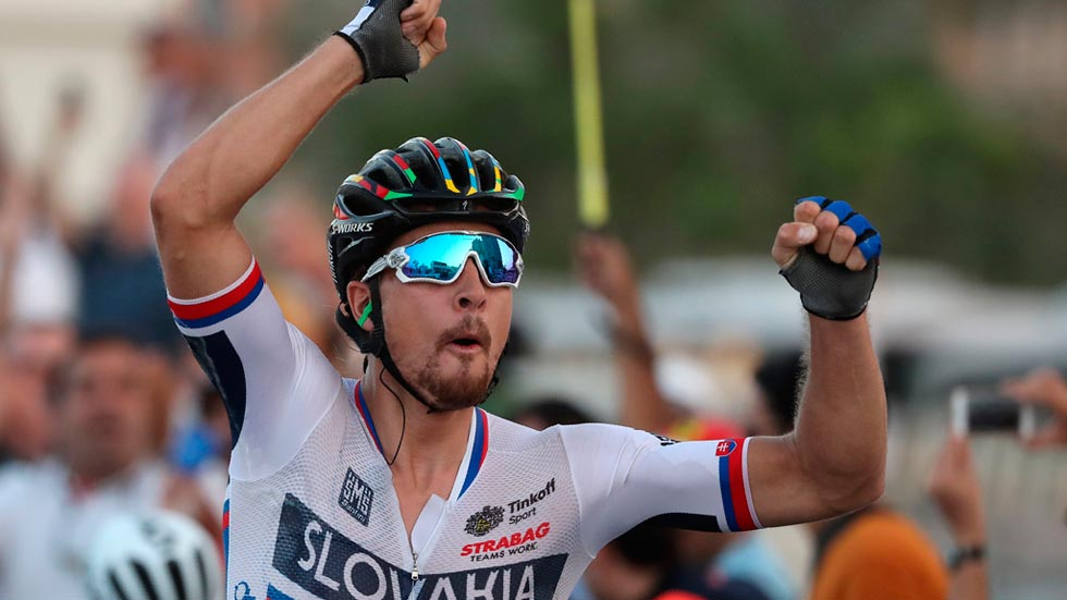 Peter Sagan se proclama campeón del mundo y revalida el título
