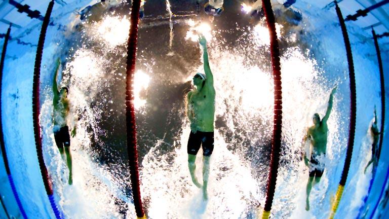 Phelps dice adiós a la natación