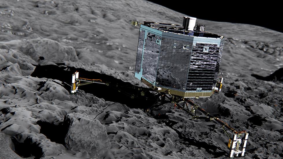 La sonda Philae vuelve a dar señales de actividad tras siete meses sobre un cometa
