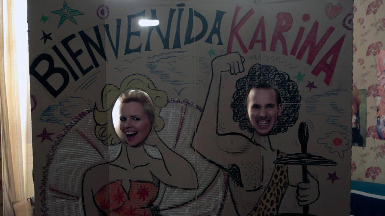 Pili y Marcelo preparan el recibimiento a Karina