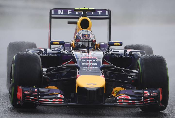 El piloto australiano Daniel Ricciardo, del equipo Red Bull Racing.