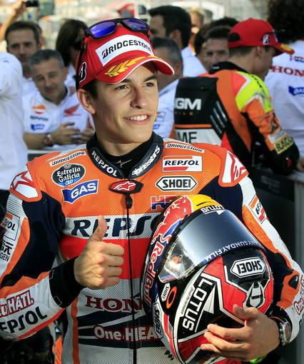 El piloto español de Moto GP, Marc Márquez