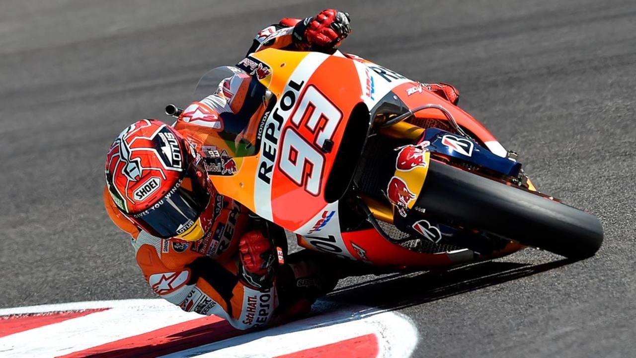 El piloto español y vigente campeón de MotoGP, Marc Márquez, se ha impuesto en el circuito 'Marco Simoncelli', de Misano.