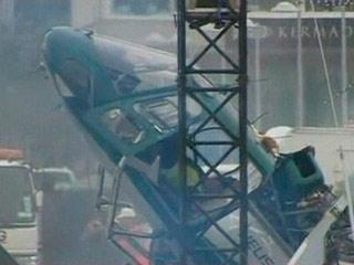 Un piloto sale ileso del accidente de su helicóptero en Nueva Zelanda
