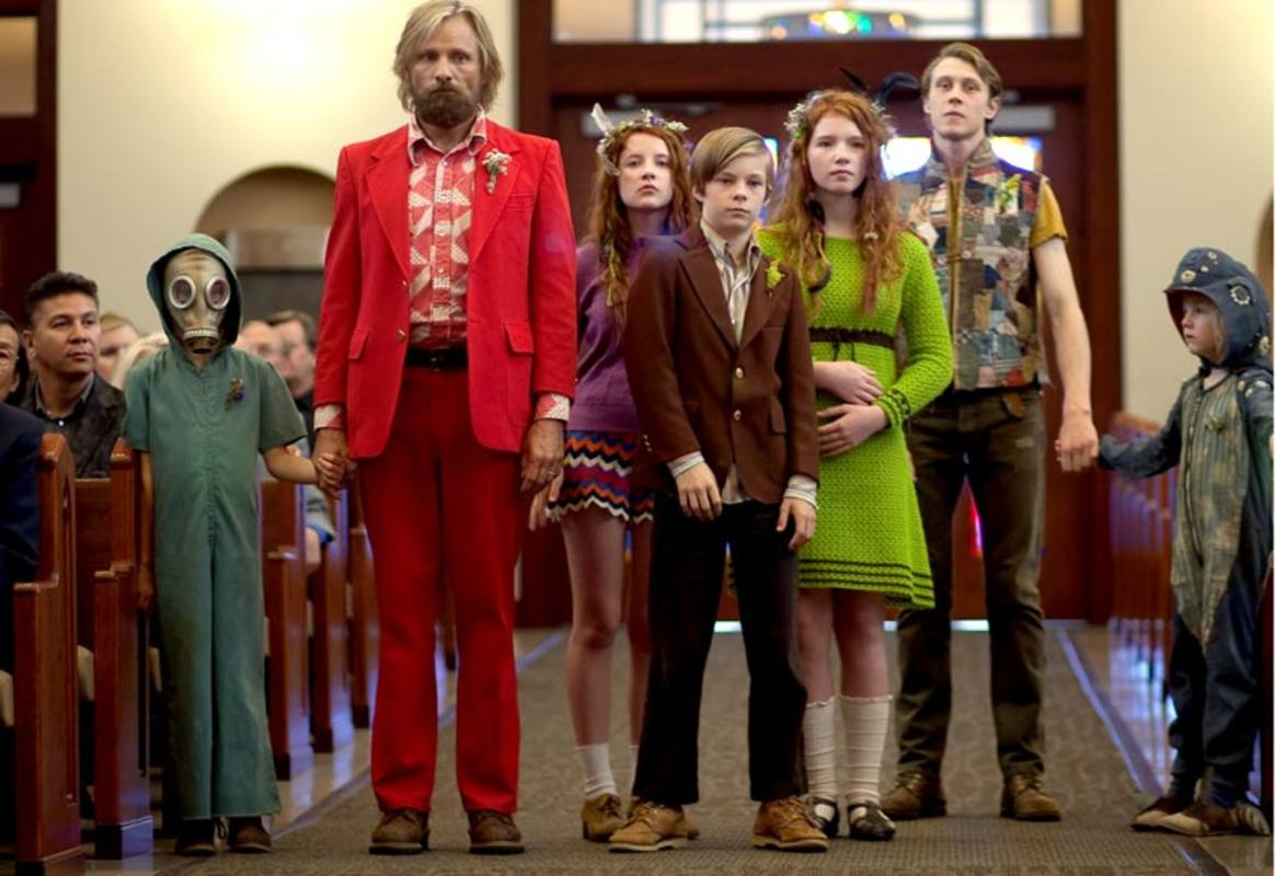 La pintoresca familia protagonista de 'Captain Fantastic'
