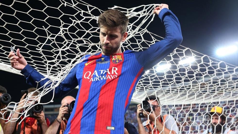"""Piqué: """"No se puede comparar lo conseguido por el Madrid con lo ganado por nosotros"""""""