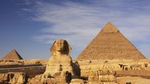 Ir al VideoLa pirámide de Keops presenta diferentes temperaturas
