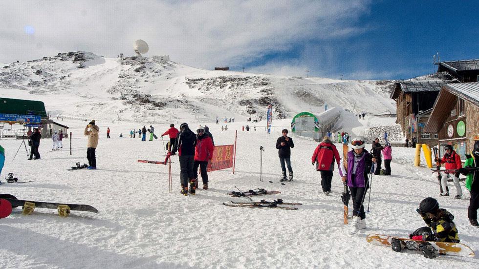Las pistas de esquí como destino para este puente
