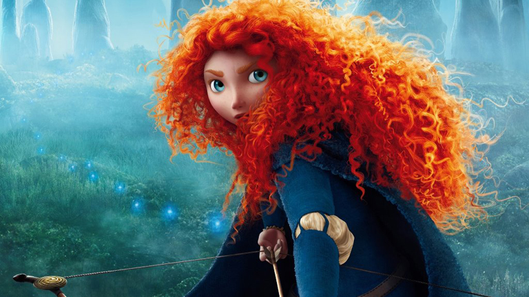 Pixar nos presenta a Mérida, la protagonista de su nueva película: 'Brave'