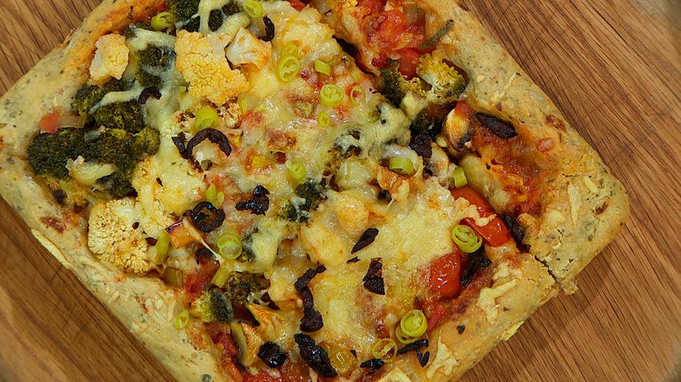 Torres en la cocina - Pizzapan