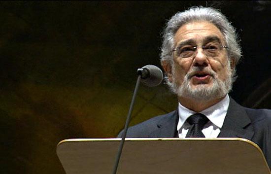 Plácido Domingo canta en la Fiesta de la Libertad de Berlín