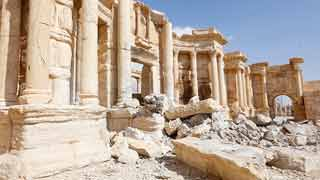 Un plan de urgencia intenta devolver el esplendor a la ciudad de Palmira