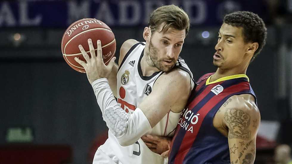 Baloncesto - Liga ACB. Play Off 2º partido: Real Madrid - FC Barcelona