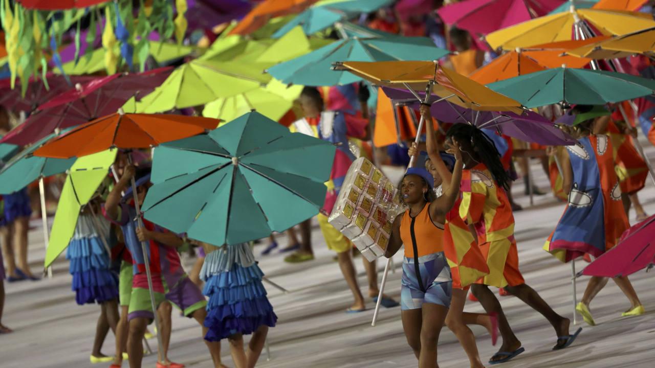 La playa de Río, presente en la Inauguración de los Juegos Paralímpicos