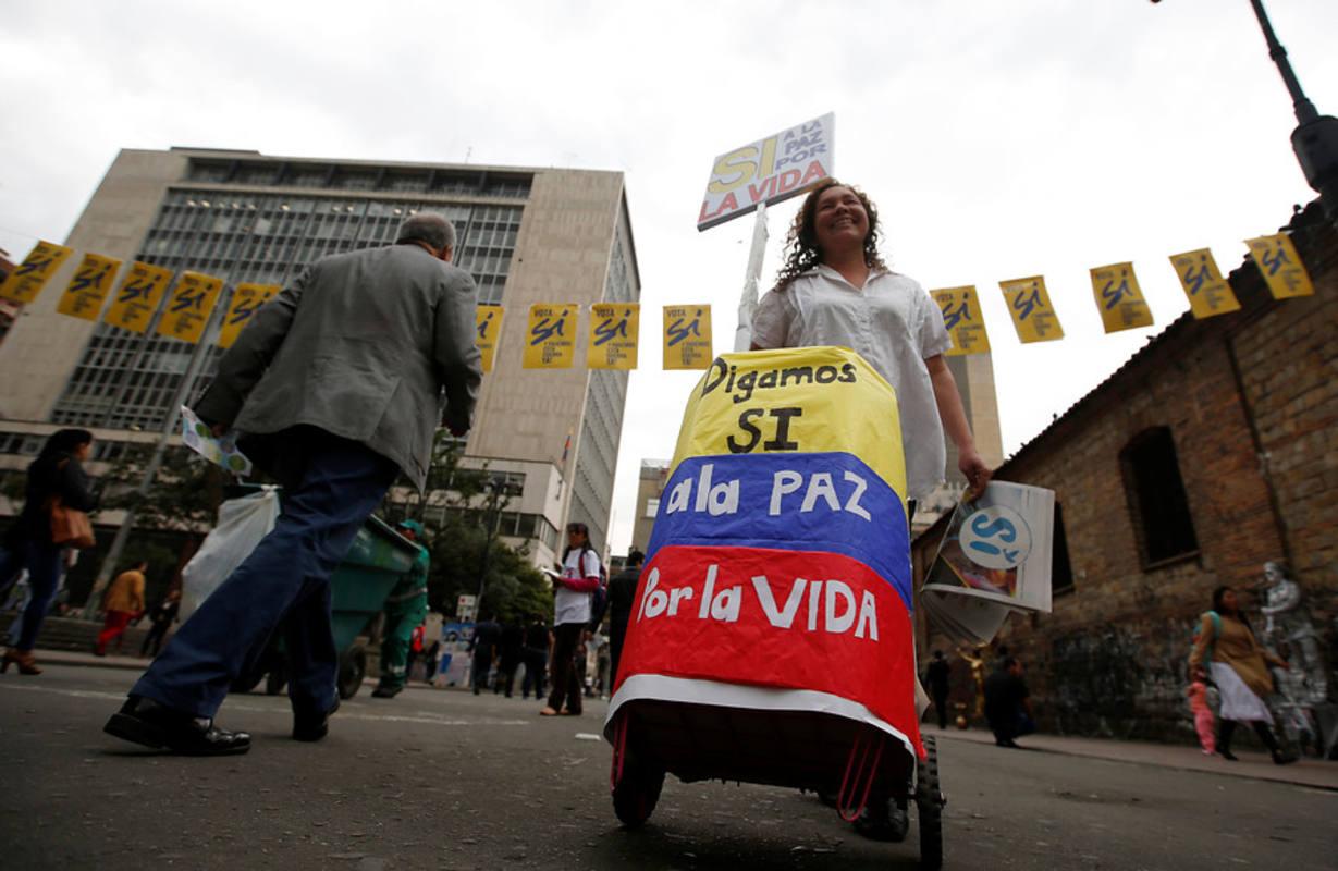 Plebiscito por la paz en Colombia