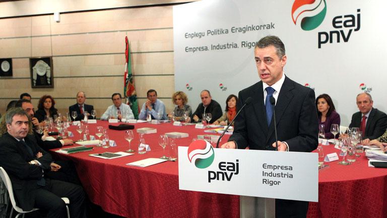 El PNV pide al lehendakari Patxi López que se someta a una cuestión de confianza