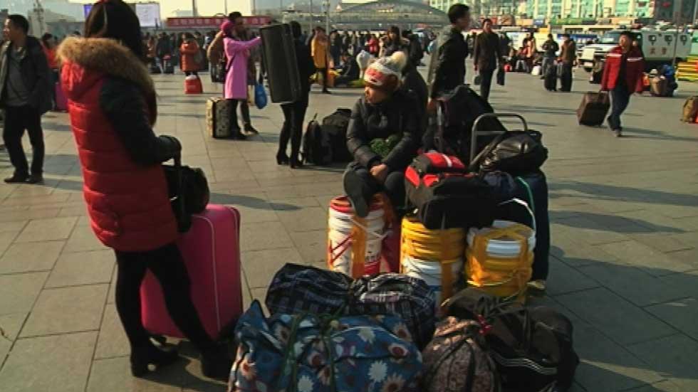 A pocos días de comenzar el año nuevo chino durante 15 días