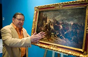 Un restaurador atribuye a Goya un cuadro inicialmente firmado por Sorolla