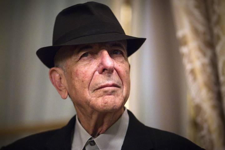 El poeta, escritor y cantautor canadiense Leonard Cohen, en una imagen de archivo.