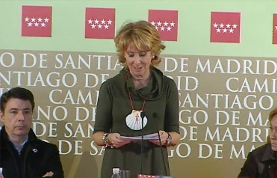 Los micrófonos recogen unas controvertidas afirmaciones de Esperanza Aguirre