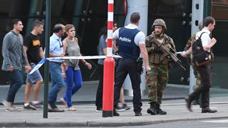 La Policía belga abate a un hombre con explosivos en la Estación Central de Bruselas