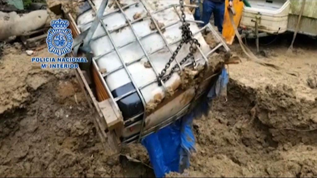 La Policía incauta más de una tonelada de cocaína en Guipúzcoa y Granada