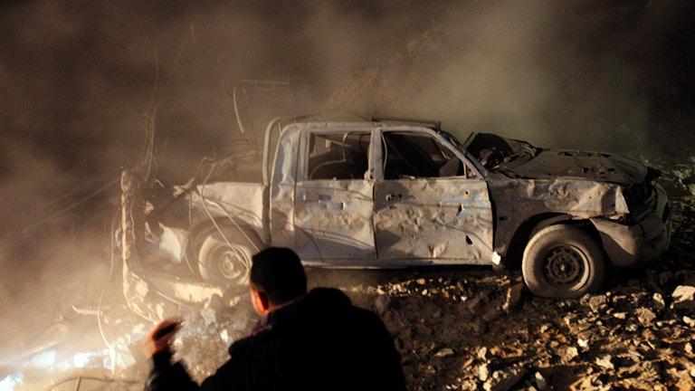 Un policía palestino muere en un bombardeo