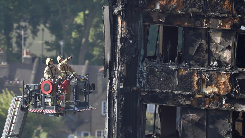 La policía reconoce que muchas víctimas del incendio en Londres nunca serán identificadas