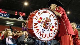 La Policía recupera en Madrid el bombo de Manolo