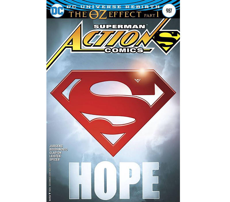 Portada de Action Comics #987
