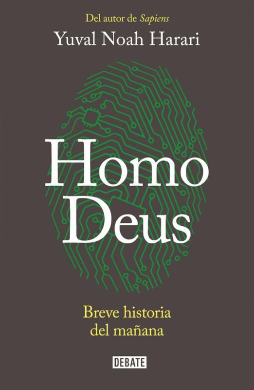 Portada del libro 'Homo Deus, breve historia del mañana'.