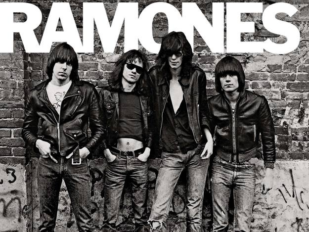 Portada del primer disco de Ramones, 'Ramones' (1976).