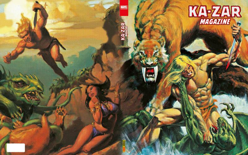 Portada de 'Marvel Limited Edition: Ka-Zar Magazine'